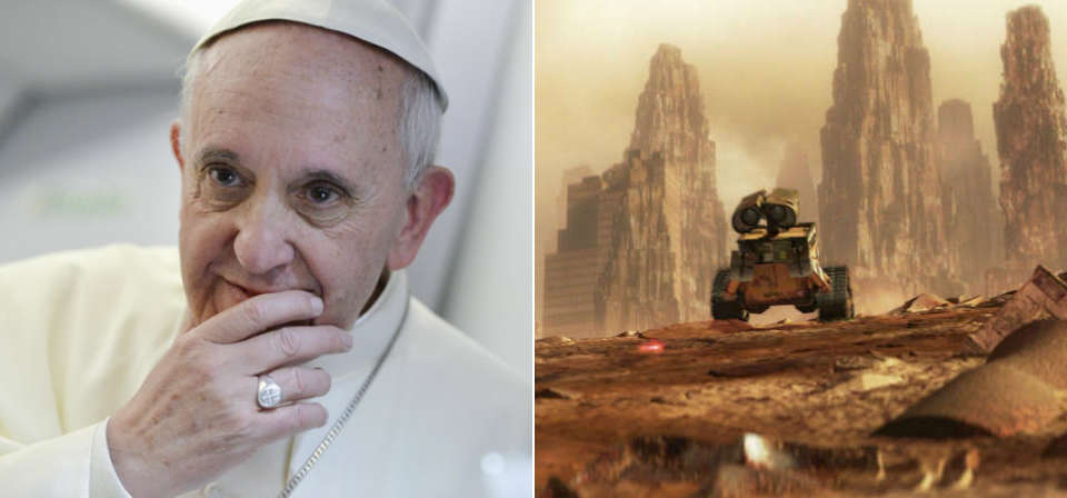Pixar and the Pope: Pope Francis' <em>Laudato Si'</em> and Pixar's <em>Wall-E</em>